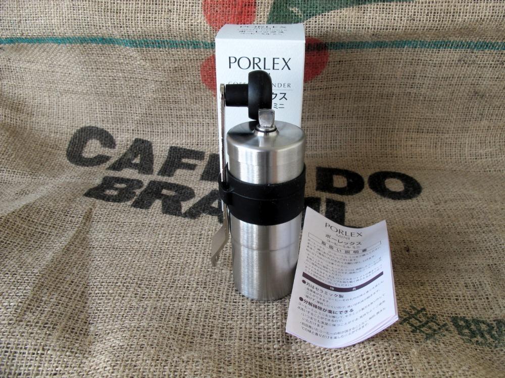 Ручная кофемолка из нержавеющей стали Porlex Mini JP-20 с ручкой